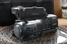 SonyNEX-EA50U Camcorder Camera with Batteries, Charger and Petrol Bag