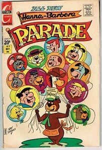 Hanna-Barbera Parade #9 (1971) - 4.0 VG *Yogi Bear/Flintstones*