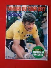 1977 miroir du cyclisme n°237 MIROIR DU TOUR DE FRANCE 1977 LES ETAPES THEVENET