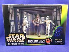 Star Wars POTF 2 1997 Death Star Escape Inc-Luke & Han as Stoormtroopers -MIMB