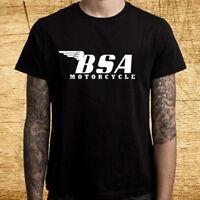 Gris BSA motos les plus populaires Moto Officiel Tee T-shirt pour homme