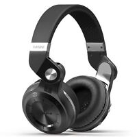Genuine Bluedio T2+ Turbine Wireless Bluetooth Headphones Support Micro SD Card