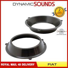 """CT25FT10 165mm 16.5cm 6.5"""" Front Door Speaker Adaptors For Fiat Panda 2003-2012"""