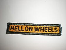 """US ARMY 2ND ARMORED DIVISION """"HELL ON WHEELS"""" TAB PATCH - COLOR"""