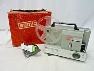 Vintage Eumig Mark 501 Super 8 Cine Projector Original Box - PAT Tested