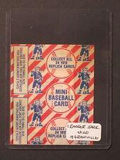 1993 Cracker Jack RABBIT MARANVILLE Unopened Card #20 mt