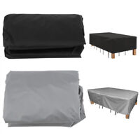 Waterproof Garden Furniture Table Cover Outdoor Patio Dustproof Chair Shelter HG
