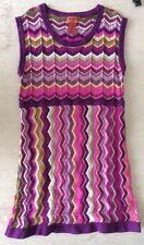 Missoni For Target Girl's Knit Dress Purple Size XL