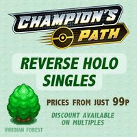Pokemon - SWSH Champions Path - Reverse Holos -