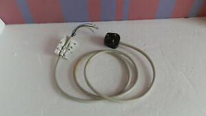 Used Miele W408SB W404 Plus Washing Machine Mains Lead Cable & Plug.