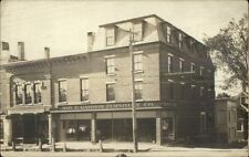 Farmington ME Roy F. Gammon Furniture Co Store c1920 Real Photo Postcard