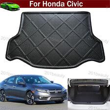 New Car Boot Pad Cargo Mat Trunk Liner Tray Floor Mat For Honda Civic 2016-2017