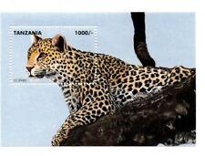 Tanzania 1995 Predators Of Africa - Leopard Souvenir Sheet - MNH