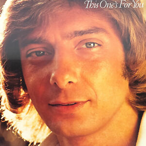 Barry Manilow This One's For You Vinyl Record 4090 Arista 1976