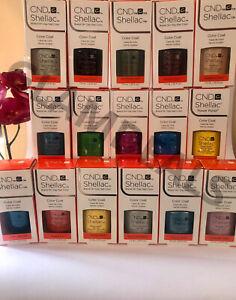 New Genuine Boxed* CND Shellac Nail Polish | 2000+ Sold | GlamDeals | 90+ Shades