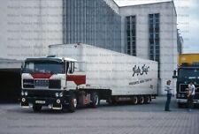 LKW Foto DAF 2800 High Hair Nena Tour '85 Berlin 10x15cm/LF249