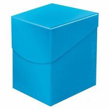ULTRA PRO DECK BOX PRO 100+ Eclipse Sky Blue CARD BOX for MTG Pokemon