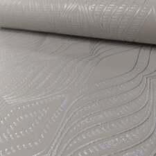 DeBona Papier peint - BIJOU DIAMANT rayures - métallique paillettes en relief -