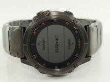 Garmin Herren Smartwatch 5X Plus Sapphire DLC Titanium Ref-010-01989-05