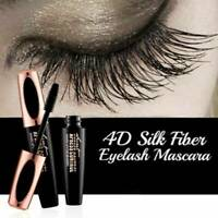 Mascara 4D Fiber Silk Eyelash Extension Waterproof Makeup Black Eye Lashes HOT!!