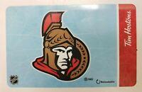 Tim Hortons Reloadable Gift Card - NHL Ottawa Senators 2019 - #FD-67559