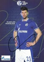 KLAAS-JAN HUNTELAAR - FC SCHALKE 04 - 2020/2021. Originale Unterschrift!