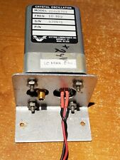 Vectron Labs Model 216-8702, 10-MHz Crystal Oscillator SMA Out