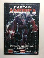 Captain America  Castaway in Dimension Z #2  Hard Cover  Marvel Comics