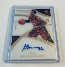 B10,915 - 2015 Immaculate Collegiate Multisport #379 Anthony Brown Autograph /99