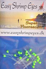 Easy Shrimp Eyes 10 Augenpaare Y - Shrimp-Augen FLUO GRÜN