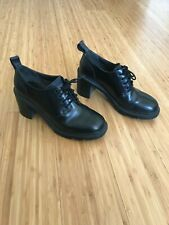 Women's black leather Camper shoes 39