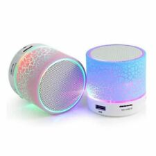Bluetooth Speaker Mini Wireless Loudspeaker Crack LED TF USB Subwoofer bluetooth