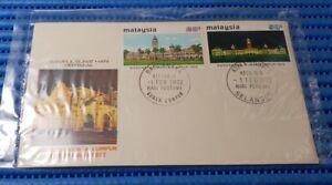 1972 Malaysia First Day Cover Bandaraya Kuala Lumpur Commemorative Stamp Issue
