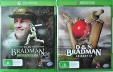 Don Bradman Cricket and Don Bradman Cricket 17 Microsoft Xbox One