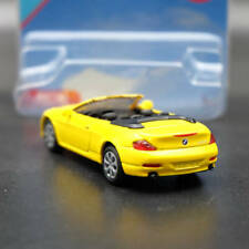 Siku 1007 BMW 645i Cabrio Convertible Cabriolet Toy Vehicles Diecast Yellow Car
