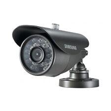 "SAMSUNG SCO-2040RP Compact Bullet Camera 1/3"" Lens High Resolution IR LED CCTV"