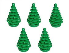 LEGO Pack of 5 Christmas Pine Trees NEW City Town Xmas