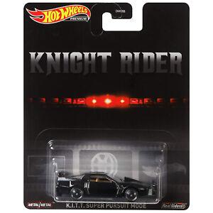 Hot Wheels Premium Knight Rider KITT Super Pursuit Mode