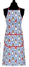 Samuel Lamont UK Cozy Penguins Cotton Apron w Pocket NWT