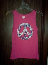 Girl's Hot Pink Tanktop size XL (14-16) NEW L.E.I.