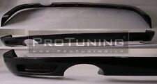 Vauxhall Opel Astra H III Twin Top Rear Bumper spoiler lip OPC look splitter MK5