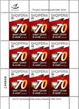 Albania Stamps 2014. Liberation of the country. Full sheet MNH