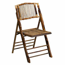 Bamboo Folding Chair (Set of 4) by American Champion