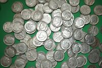 Lot of 10 ROOSEVELT DIMES 90% Silver Coins Random 1946-64 Shipping Discount #RD2