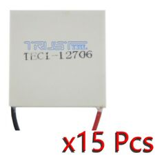 15X TEC1-12706 Heatsink Thermoelectric Cooler Cooling Peltier Plate Module 12V