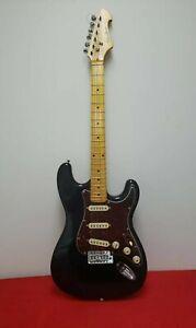 Spectrum Black Electric Guitar As- Is/ No Case