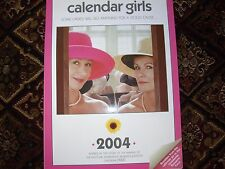 TWO MOVIE CALENDARS (CALENDAR GIRLS )&( LAUREL& HARDY) ONE PRICE