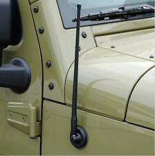 Car Off-Road Radio AM/FM Rubber Antenna For Jeep Wrangler JK 07-17 2&4Door 13''