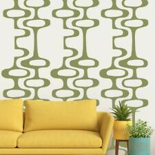 Mid Century Decals, Mid Century Modern Decor, Circle Chain Decal