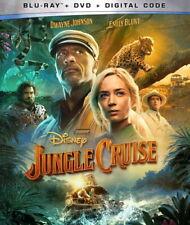 Jungle Cruise BLU-RAY/DVD/DGT Dwayne Johnson Emily Blunt PRE ORDER for 11/16/21!